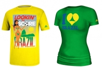 Adidas cancel production of two provocative Brazil World Cup t-shirts. Source: Official Adidas USA Website